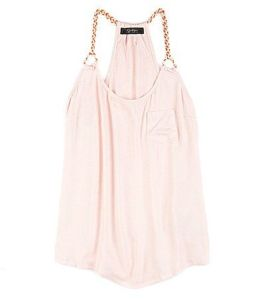 light pink flowy tank from dillards