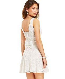 white dress for macys