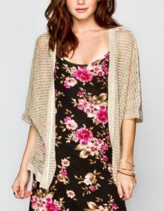 oatmeal cardigan from tilly's