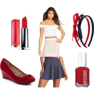 4th of july outfit idea 1