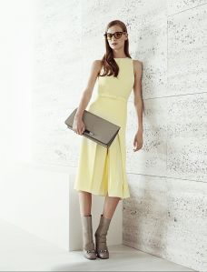 Gucci Resort 2015 yellow dress