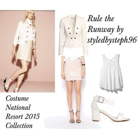 rule the runway costume national resort 2015  styledbysteph96