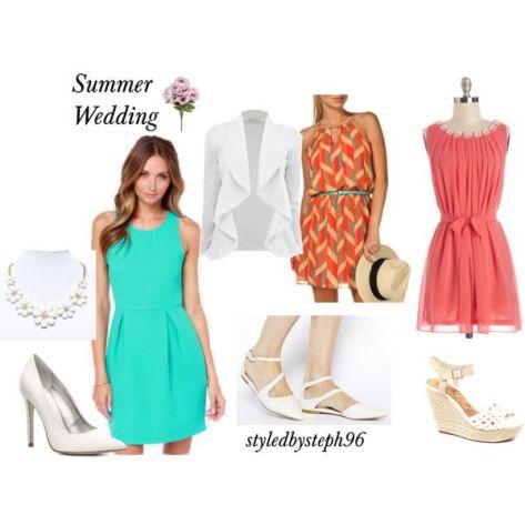 summer wedding outfit ideas, styledbysteph96