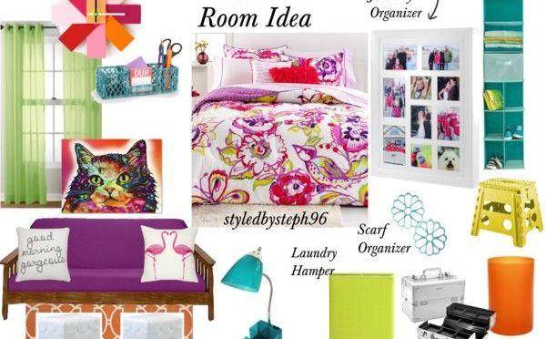 Fun and Funky Dorm Room Idea Stephanie Rehberg