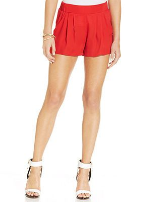 red shorts from macys, styledbysteph96