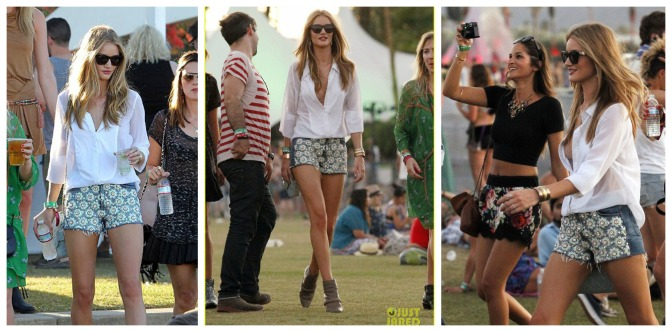 Steal That Style: Rosie Huntington Whiteley's Festival Look