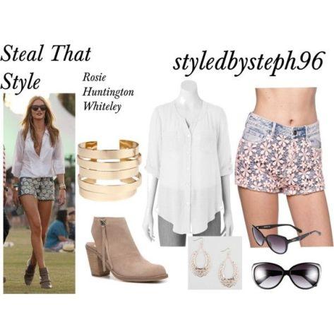 steal that style rosie huntington whiteley coachella look styledbysteph96