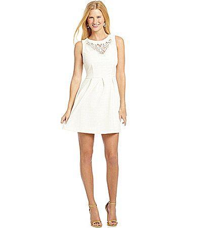 white dress from dillards