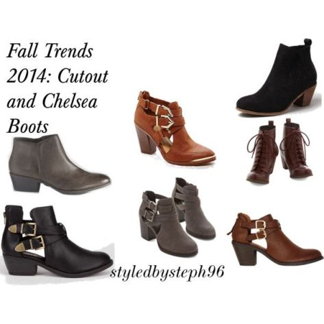 cutout boots trends, fall 2014, styledbysteph96