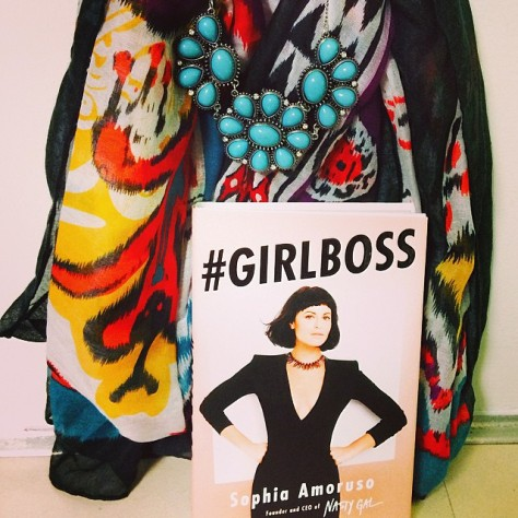 giveaway, styledbysteph96, necklace, scarf, and girlboss book