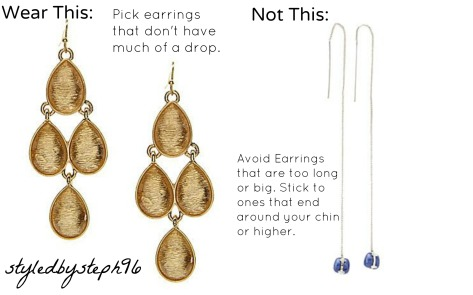 Jewlery Tips for Petites Earrings, styledbysteph96