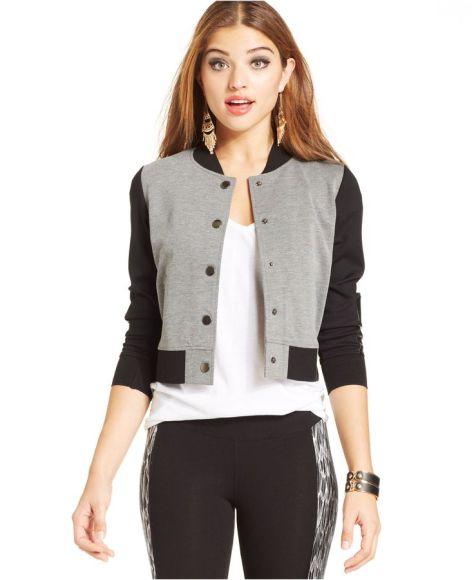 varsity jacket, macys, styledbysteph96