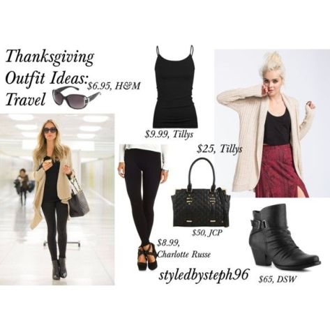 thanksgiving outfit ideas, travel outfit ideas, airport outfit, styledbysteph96