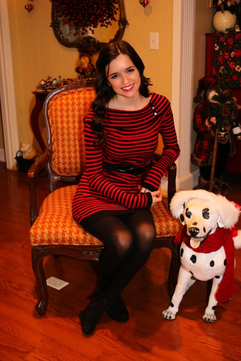 Christmas OOTD, bodycon dress, styledbysteph96, outfit ideas