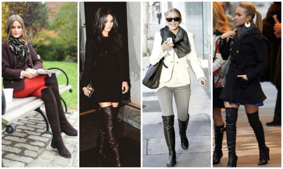 petite celebrity fashion, over the knee boots, styledbysteph96, olivia palermo