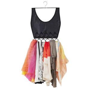 scarf organizer, closet, storage, decor, styledbysteph96, fashion, new years resolutions