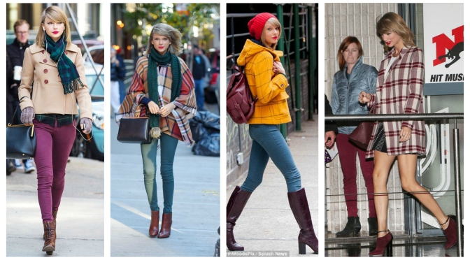 How to Dress Like Taylor Swift (Fall/ Winter)