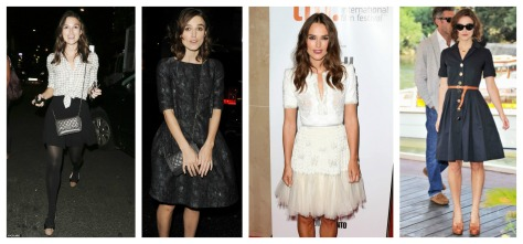 what to wear for a boyish figure, kiera knightly, styledbysteph96, skirts, dresses, feminine outfits, winter outfit ideas