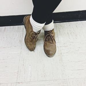 booties, leggings, socks, ootd, styledbysteph96, class act