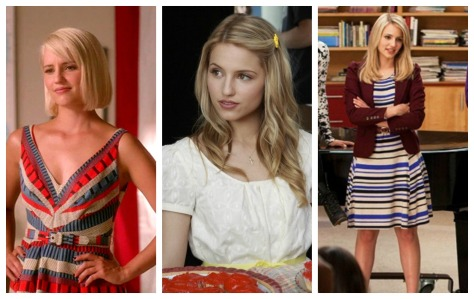 quinn fabray outfit ideas, glee outfits, glee fashion, dianna agron, styledbysteph