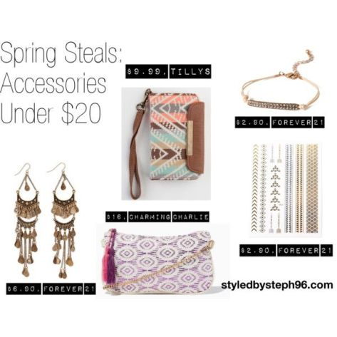 spring steals, tribal print, accessories, tattoos, bracelets, styledbysteph96